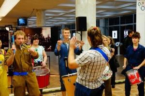 Samba Real на открытии Фестиваля индустриальной культуры в КЦ ЗИЛ
